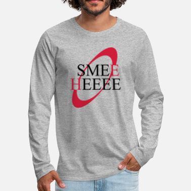 Smee Heee Kryten Red Dwarf quote - Men's Premium Longsleeve Shirt