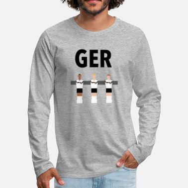 Kickerfiguren Kickerfiguren Germany - Männer Premium Langarmshirt