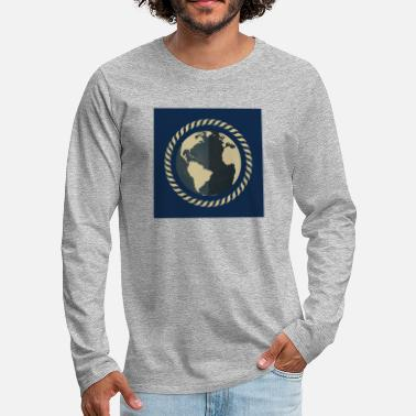 World The world / The world - Men's Premium Longsleeve Shirt