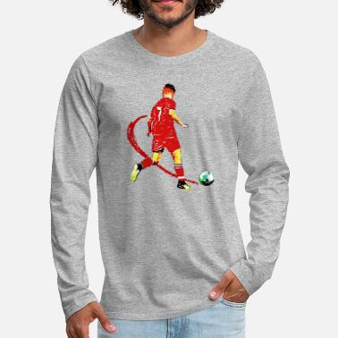 Football football - Men's Premium Longsleeve Shirt