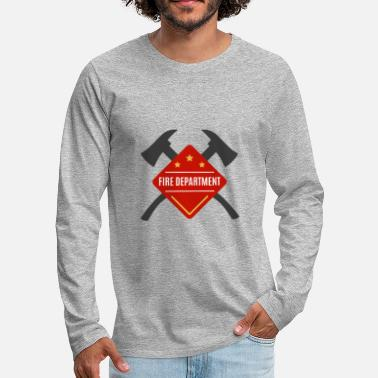 Fire Department Fire Department - Fire Department - Men's Premium Longsleeve Shirt