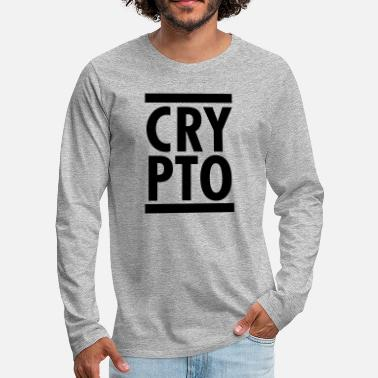 Crypto Crypto - T-shirt manches longues premium Homme
