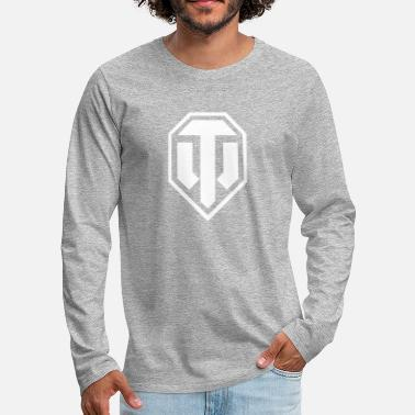 Officialbrands World of Tanks Logo - Men's Premium Longsleeve Shirt