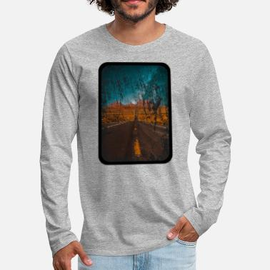 Eldorado Texas Road - Men's Premium Longsleeve Shirt