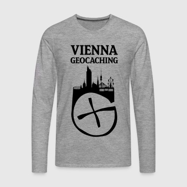 Vienna Geocaching - Men's Premium Longsleeve Shirt