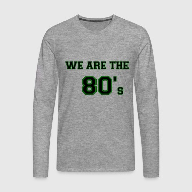 WATHE80GREEN - Men's Premium Longsleeve Shirt
