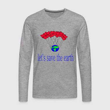 laissez-s_save_the_earth - T-shirt manches longues Premium Homme