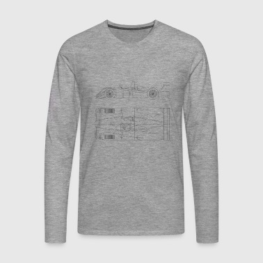 R8 LeMans - Men's Premium Longsleeve Shirt