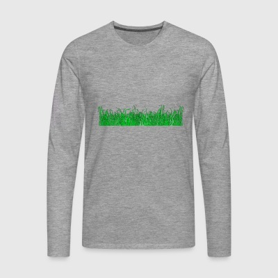 herbe - T-shirt manches longues Premium Homme
