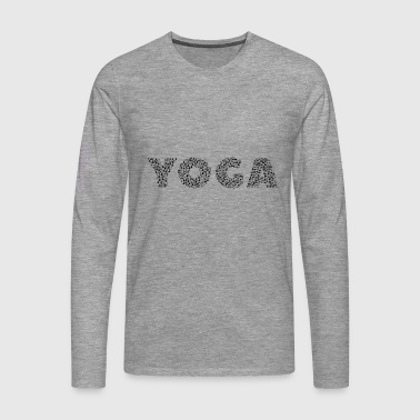 yogaception - Camiseta de manga larga premium hombre