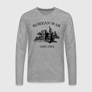 Korean War 1950-1953 - Men's Premium Longsleeve Shirt