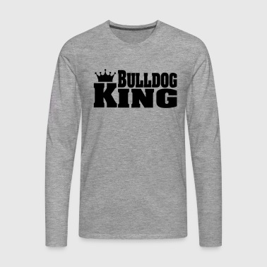 BULLDOG KING English Bulldog English Bulldog - Men's Premium Longsleeve Shirt