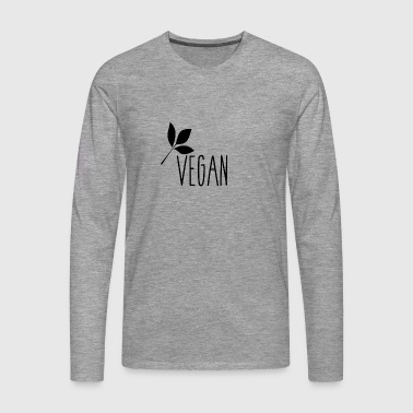 Vegan - Men's Premium Longsleeve Shirt