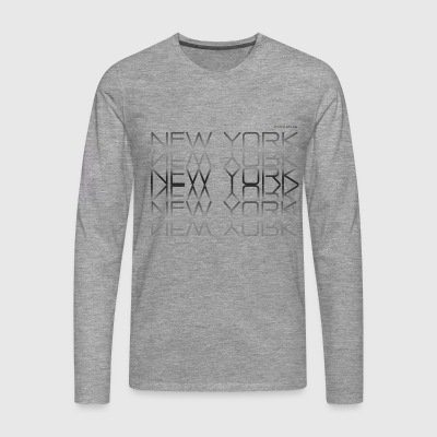 Espace Atlas Tee New York, New York - T-shirt manches longues Premium Homme
