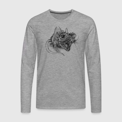 rat - Men's Premium Longsleeve Shirt
