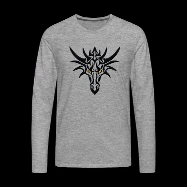 Tribal Dragon - Men's Premium Longsleeve Shirt