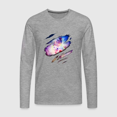 Motocross in me - Men's Premium Longsleeve Shirt