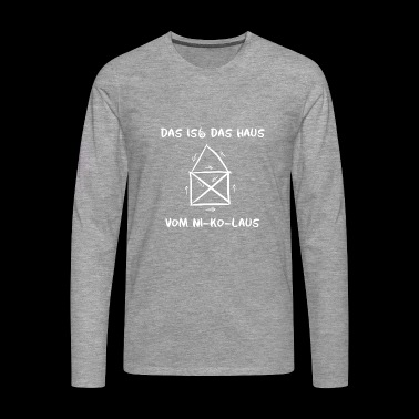 This is funny the house of Nicholas Nicholas Day - Men's Premium Longsleeve Shirt