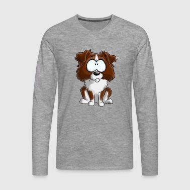 I am Australian Red Shepherd - Men's Premium Longsleeve Shirt