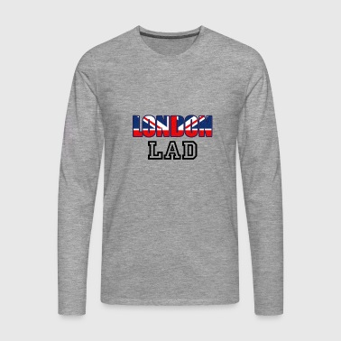 London Lad - Camiseta de manga larga premium hombre