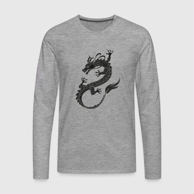 Dragonflight black - Men's Premium Longsleeve Shirt