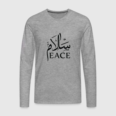 Peace - Men's Premium Longsleeve Shirt