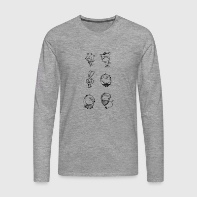 Animation - Men's Premium Longsleeve Shirt