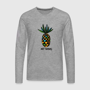 pineapple art'nanas - Men's Premium Longsleeve Shirt