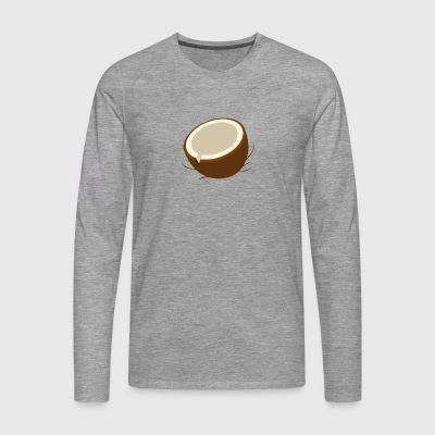 coconut - Men's Premium Longsleeve Shirt