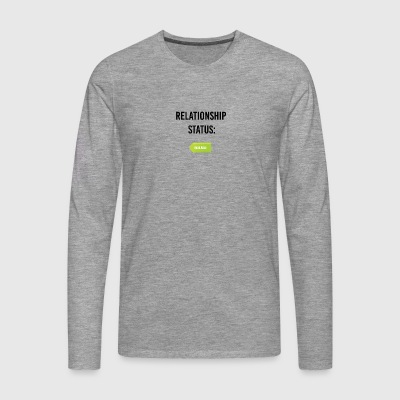 I am available - Men's Premium Longsleeve Shirt