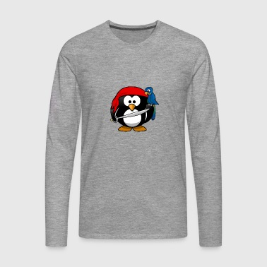 pirates Pirate Penguin - T-shirt manches longues Premium Homme