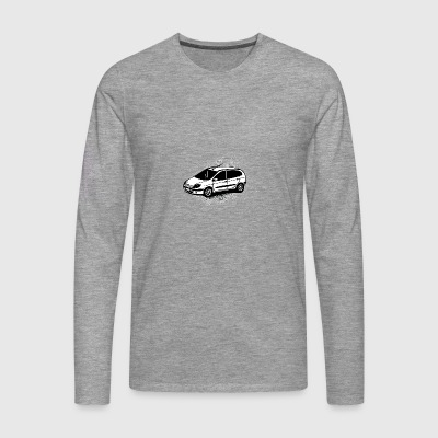 Small white car - Men's Premium Longsleeve Shirt