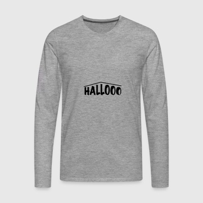 hallooo - T-shirt manches longues Premium Homme