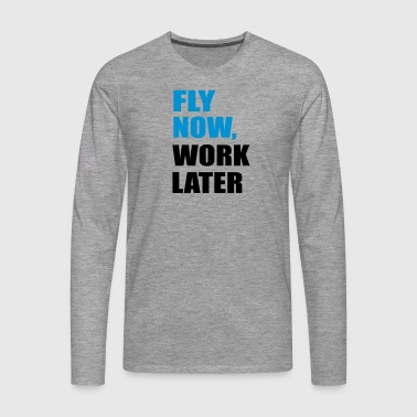 fly - Men's Premium Longsleeve Shirt