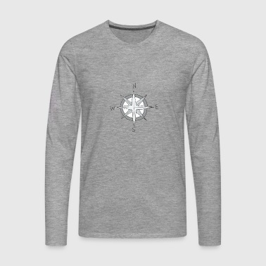 wind rose - Men's Premium Longsleeve Shirt