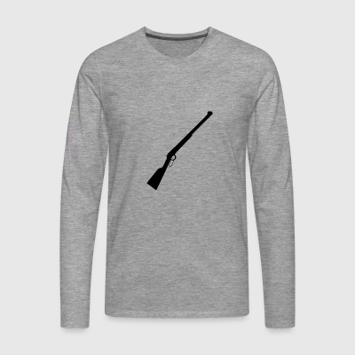 Rifle / Shotgun Rifle & Hunting Rifle Fans - Men's Premium Longsleeve Shirt