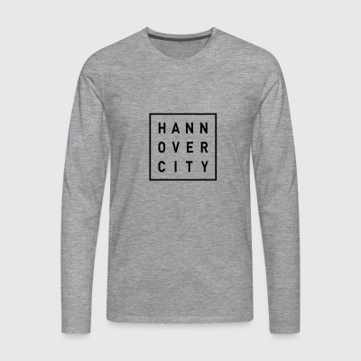 HANNOVER CITY - Men's Premium Longsleeve Shirt