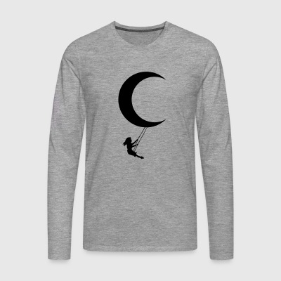 Moon swing - Men's Premium Longsleeve Shirt