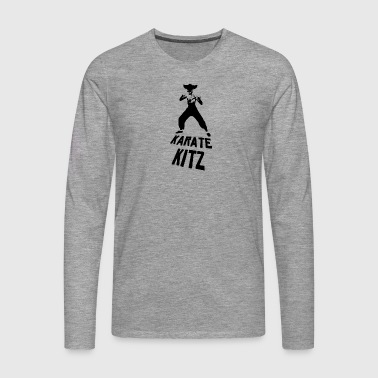 Karate fawn - Men's Premium Longsleeve Shirt
