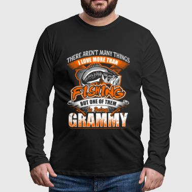 Grammy - Fishing - EN - Men's Premium Longsleeve Shirt