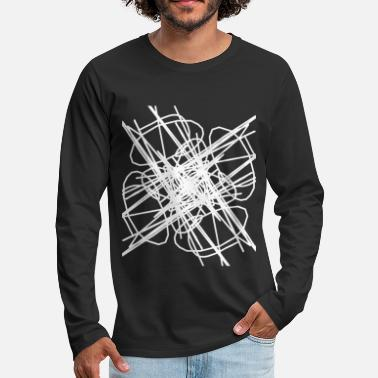 Emotion Explosion of emotions emotions art - Långärmad premium-T-shirt herr