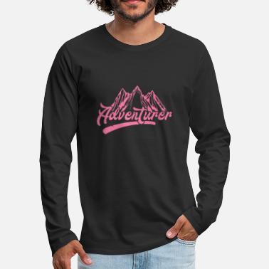 Randonnée Randonnée Randonnée Randonnée Randonnée Randonnée - T-shirt manches  longues Premium Homme 5530394e8a80