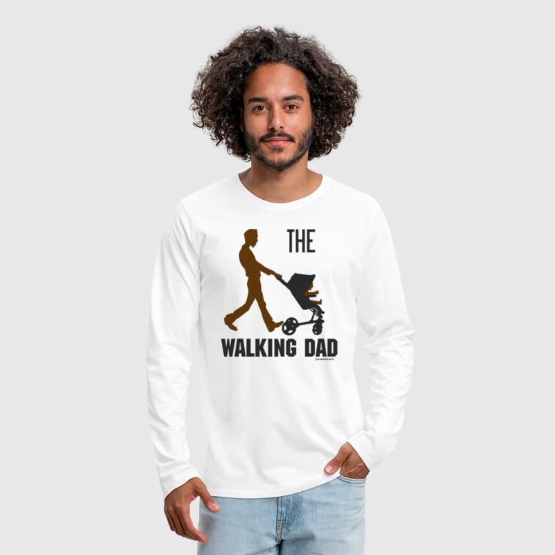 VTD - The walking Dad - Vatertag Papa Kinderwagen - RAHMENLOS ...