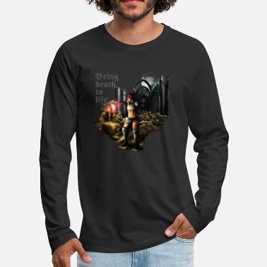 Heavy Metal Bring death to life - Camiseta de manga larga premium hombre