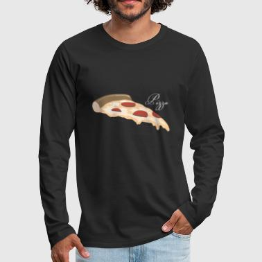 Piece Pizza piece - Men's Premium Longsleeve Shirt
