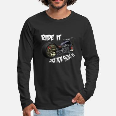 Chopper Custom choppers - Men's Premium Longsleeve Shirt