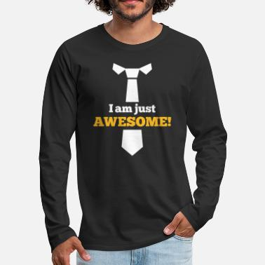 Awesome Awesome - T-shirt manches longues Premium Homme