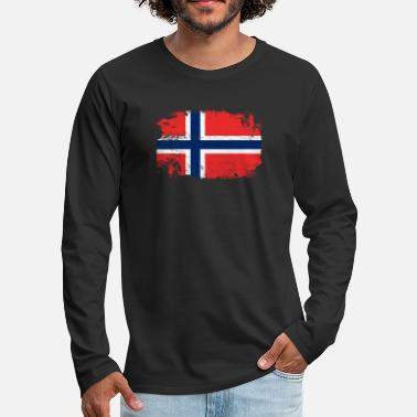 Scandinavia Norway Scandinavia - Men's Premium Longsleeve Shirt