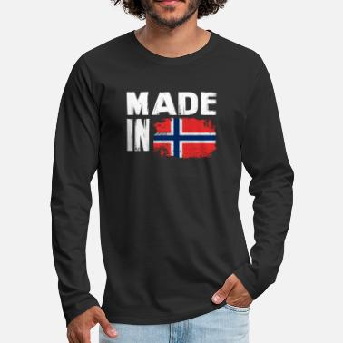 Scandinavia Norway t-shirt - Men's Premium Longsleeve Shirt