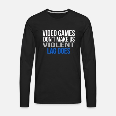 Game video games - Men's Premium Longsleeve Shirt